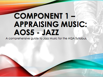 AQA (2016) AS/A Level Jazz - All Suggested Listening (updated for Sept 2018)