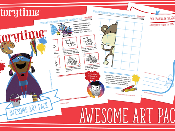 Storytime - Awesome Art Pack