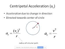 Centripetal acceleration practise questions