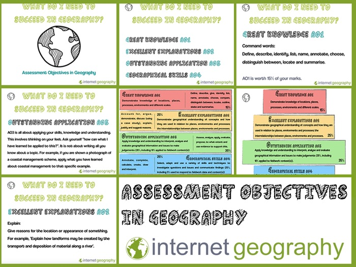 Assessment Objectives in Geography