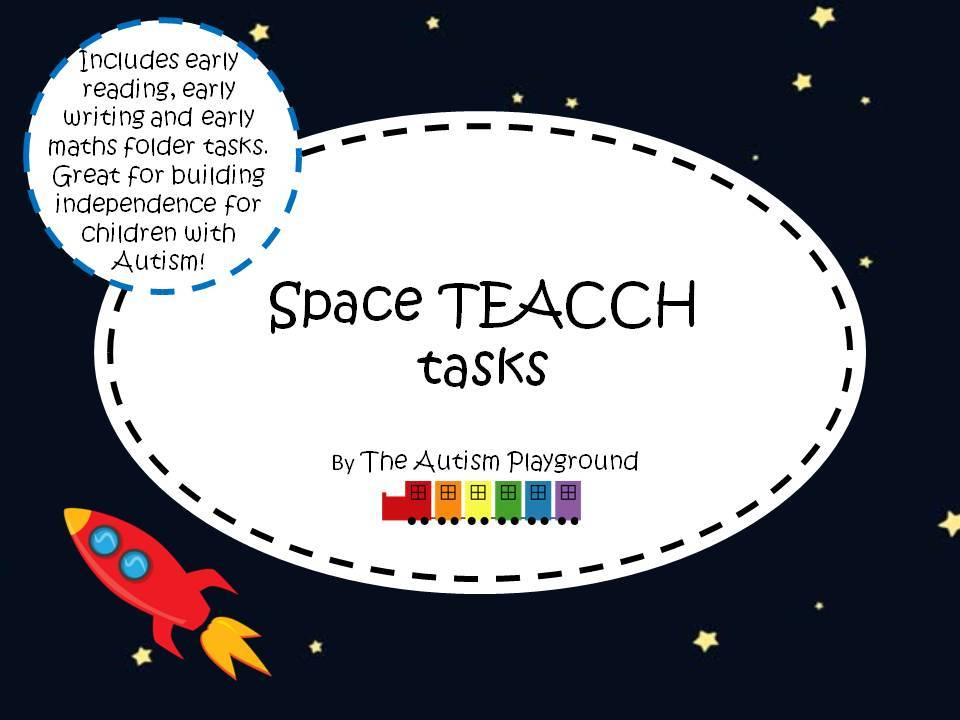 Space TEACCH tasks – Independent Autism and SEN tasks - World Space Week