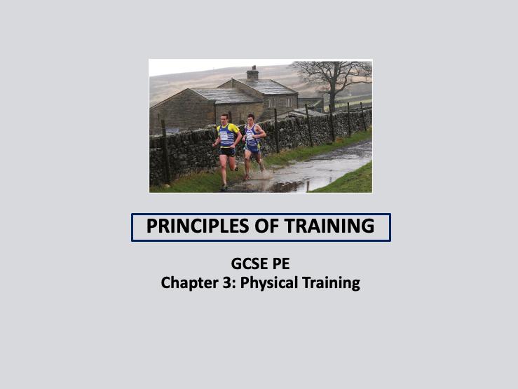 GCSE 9-1 PE - Principles of Training lesson