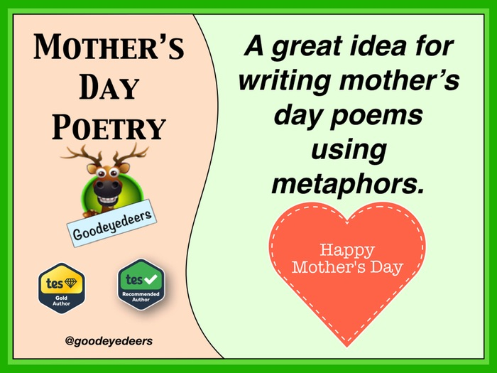 Mother's Day Poetry - Metaphors