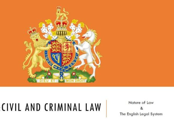 ELS - Civil and Criminal Law Lesson