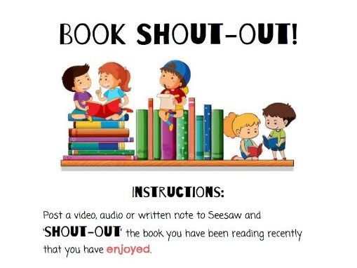 Book Shout-Out