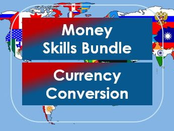 Money Skills: Currency Conversion Bundle