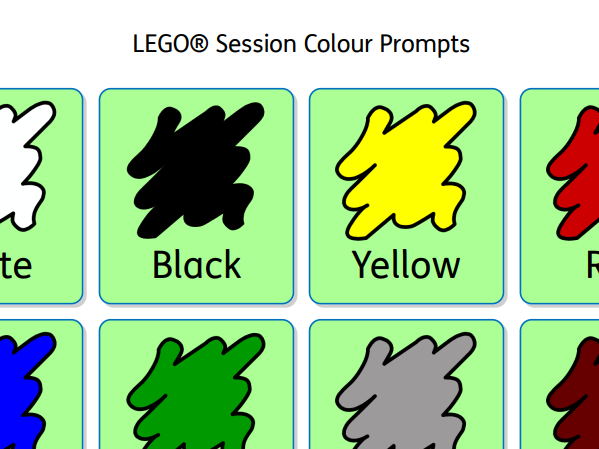 LEGO® Session Colour Prompts