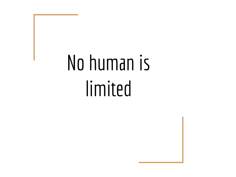 School Assembly  - No Human is Limited