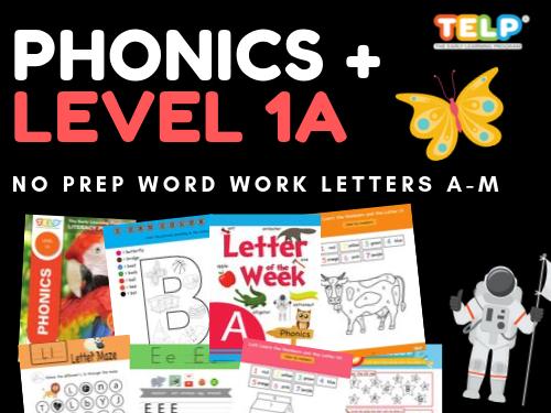 Phonics 1A - TELP Early Literacy Program