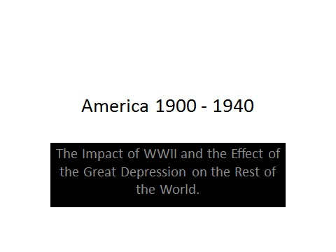 America after WW2