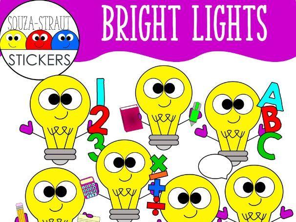 Bright Lights Clip Arts