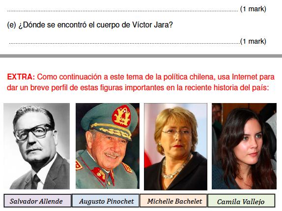 Chile's national stadium and General Pinochet