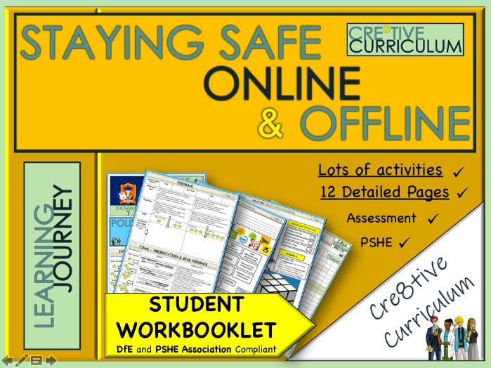 Staying Safe Online and Offline WorkBook PSHE