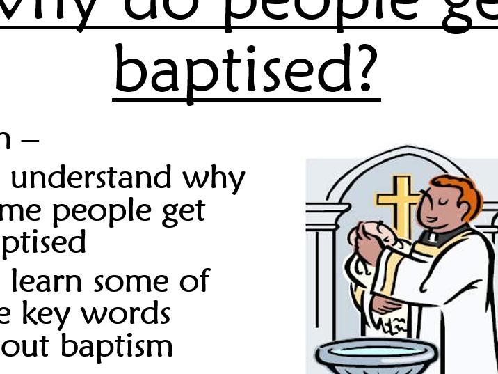 Sacraments - Baptism (part 1)