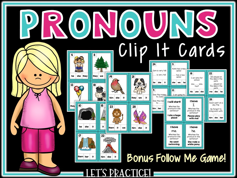 SPAG Revision: Year 4 Pronouns Games
