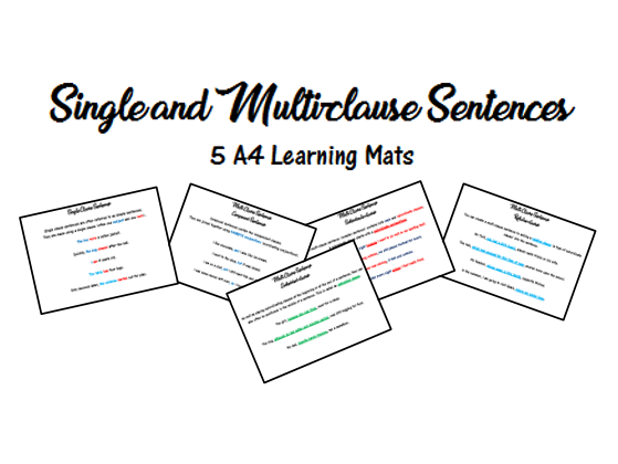 Single and Multi-clause Sentences
