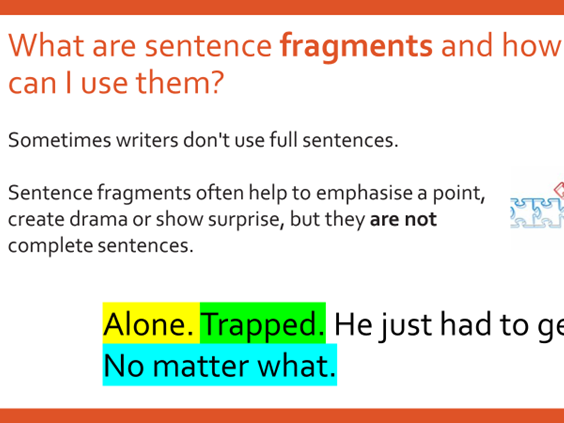 Using Varying Sentences for Clarity, Purpose and Effect