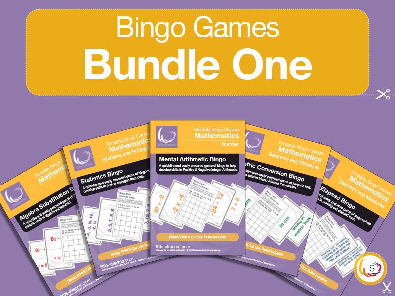Bingo Games Bundle 1
