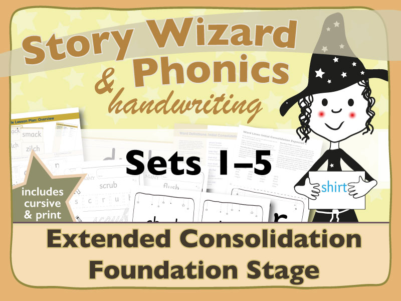 Extended Phonics Consolidation Bundle 1