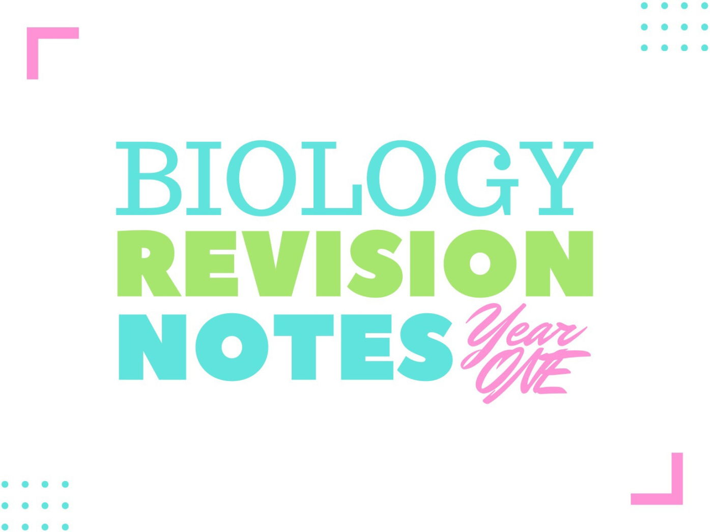 AQA A LEVEL BIOLOGY AS TOPICS BUNDLE