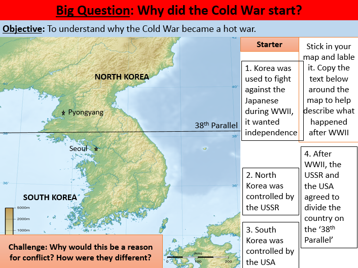 3. Cold War - Korean War KS3-KS4