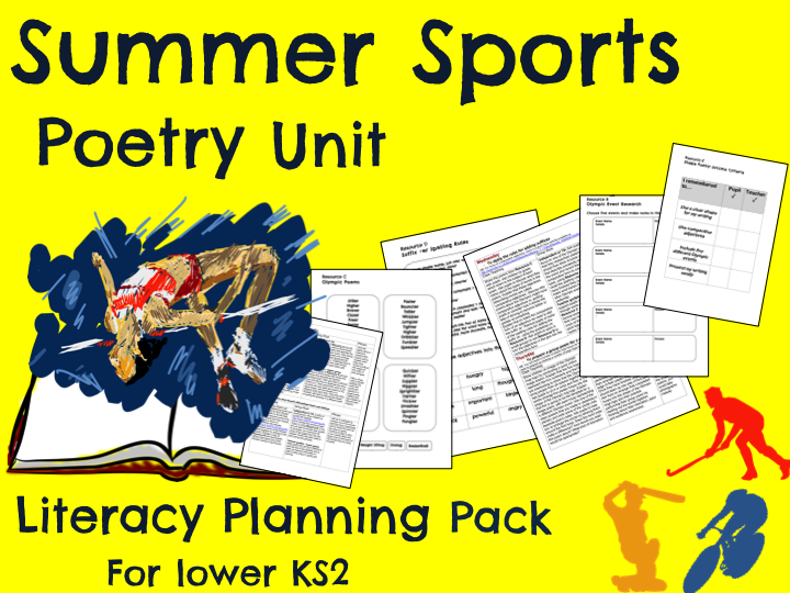 'Summer Sports' Poetry Planning