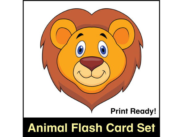 ESL Flash Cards - Animals