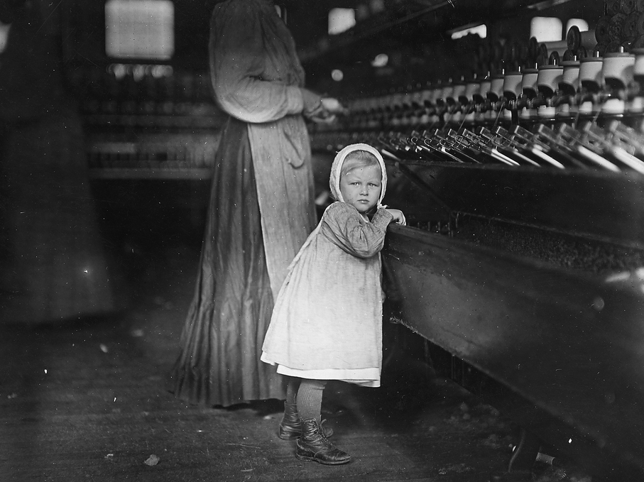 Industrial Revolution - Factory System -  Children's working conditions