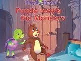 Purple Turtle Stories: Purple Befriends Monsters(EBOOK)