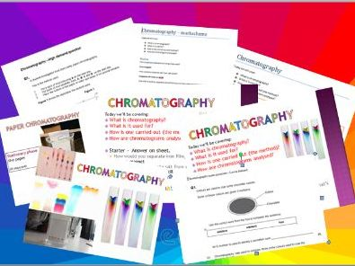 GCSE AQA 9-1 NEW Chromatography lesson