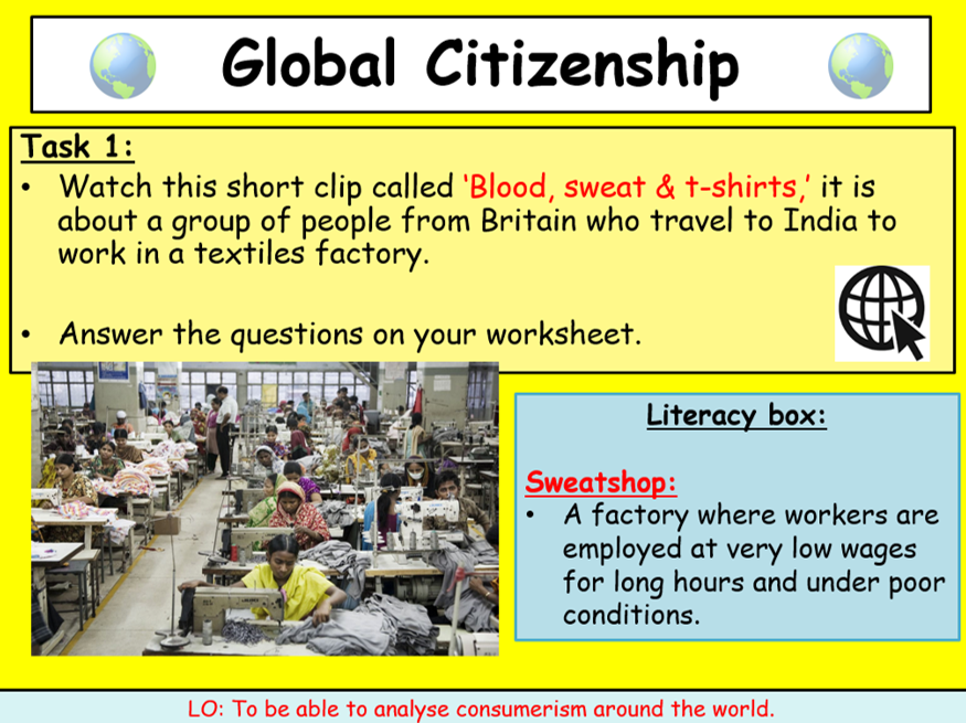 GCSE Global Citizenship