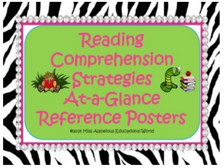 Reading Comprehension Strategies Mini-Posters