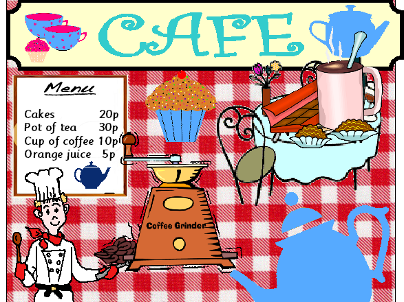 CAFE ROLEPLAY CLASSROOM RESOURCES EYFS KS1