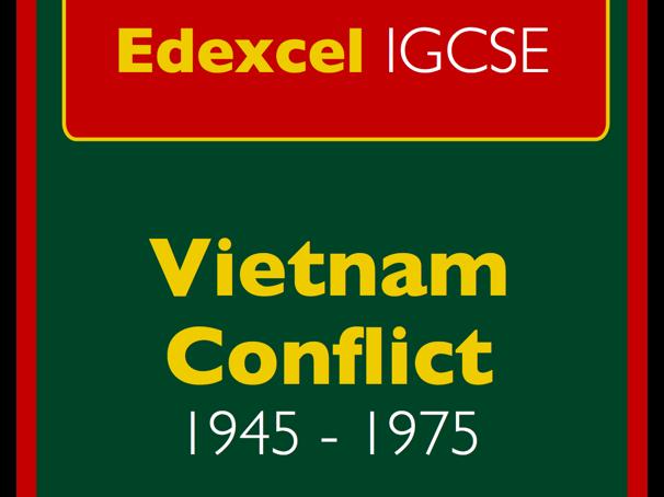 IGCSE Edexcel History: The Vietnam conflict, 1945-1975