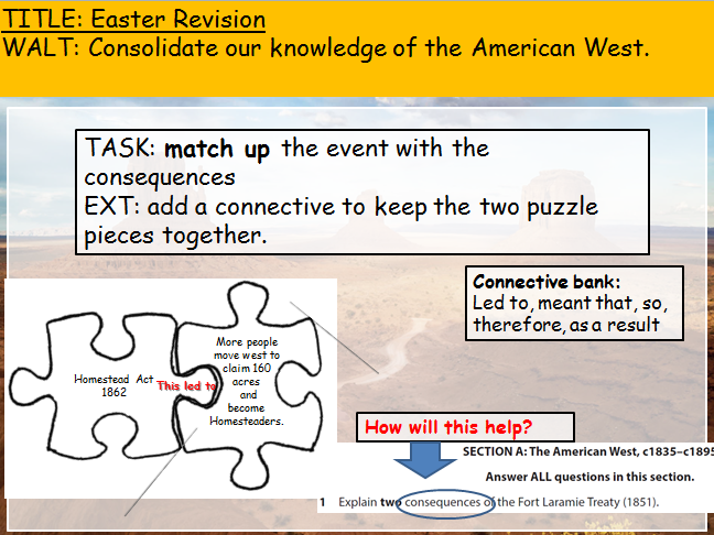 American West Consequences Revision (Edexcel 9-1)