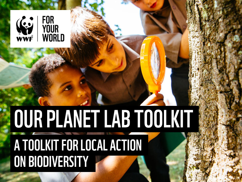 Our Planet LAB: Toolkit for local action on biodiveristy