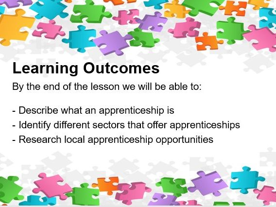 Introduction to Apprenticeships Lesson
