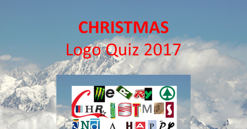 Christmas logo quiz 2017