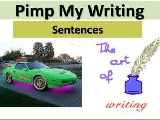 Pimp My Writing: Sentences