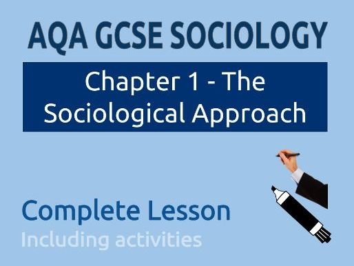 Lesson 1 - What is Sociology?