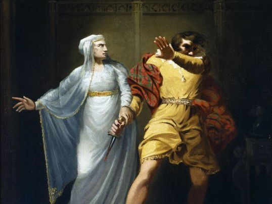 Act One , Scene 7: Macbeth and Lady Macbeth's Relationship