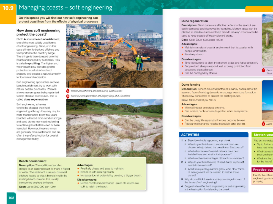 L9- Soft Engineering- Managing Coasts GCSE Geography