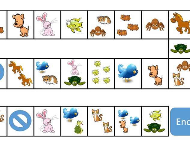 German - Haustiere / Pets - Board Game and Powerpoint - Speaking and Listening