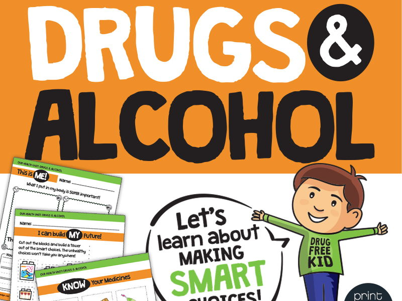 Drugs and Alcohol Unit for National Prevention Week and Red Ribbon Week