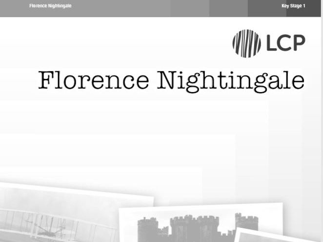 KS1 (Year 1 and 2) History: Florence Nightingale includes Worksheets and Plans