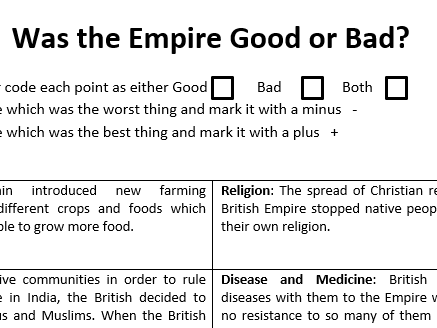 Was the British Empire Good or Bad?