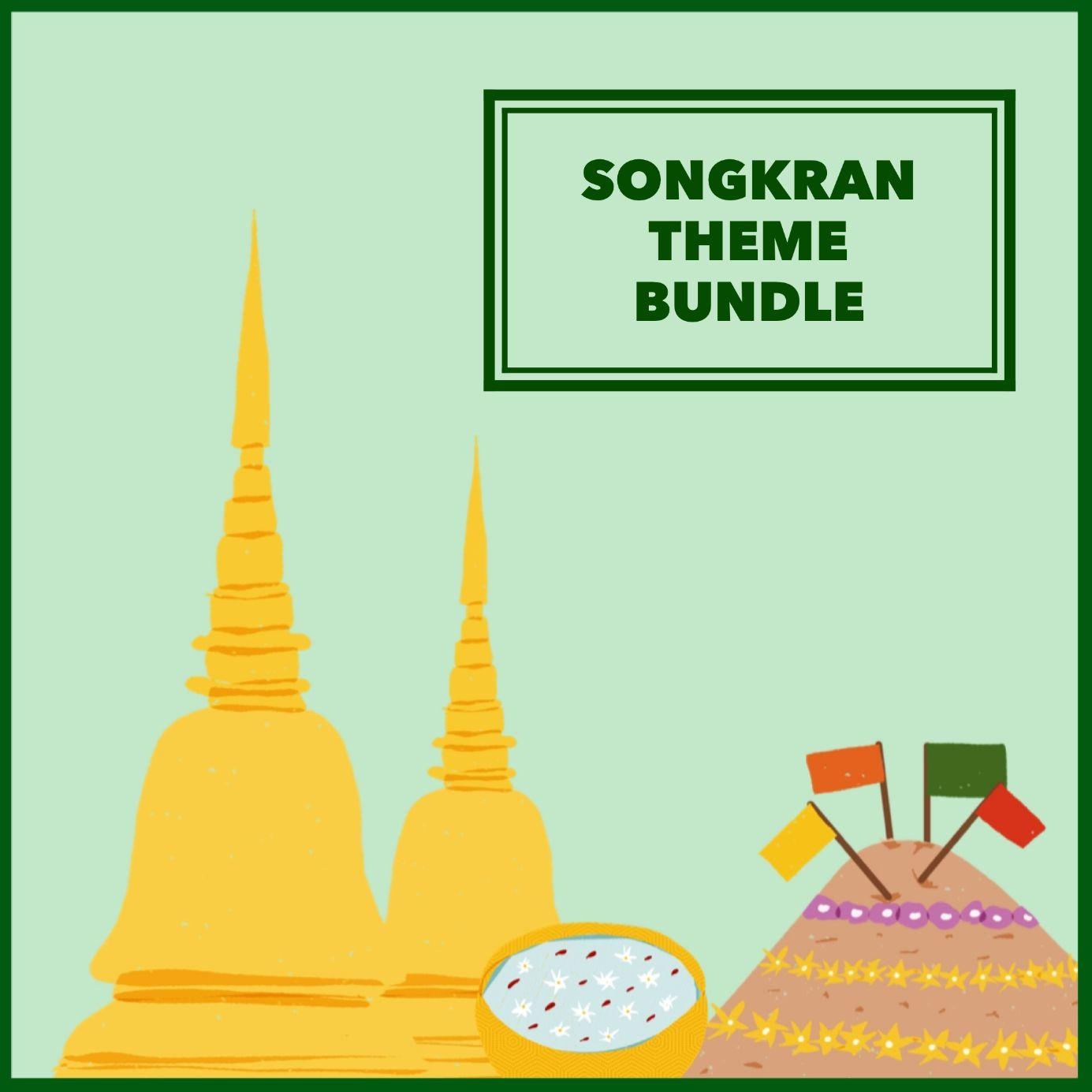 Songkran Theme Bundle