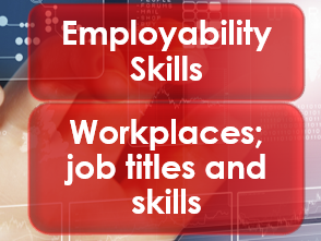 Employability/Work Skills: Workplaces/job titles or skills