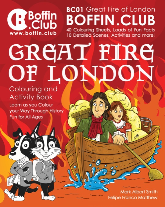 The Great Fire of London Colouring and Activity Pack