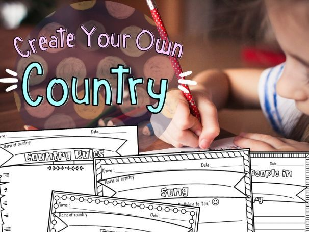 Create Your Own Country Project